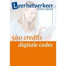 Digital codes per 500 credits